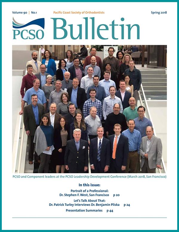 PCSO Bulletin Spring 2018